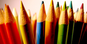 image of colored pencils | color affects everyone